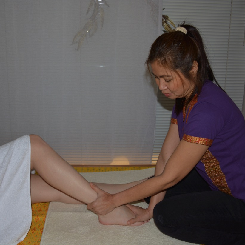 footmassage therapy